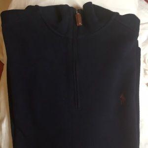 Polo Ralph Lauren quarter-zip sweater Size XL